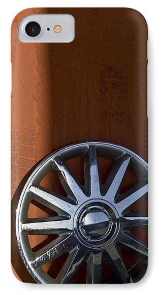 Wheel On Wall IPhone Case