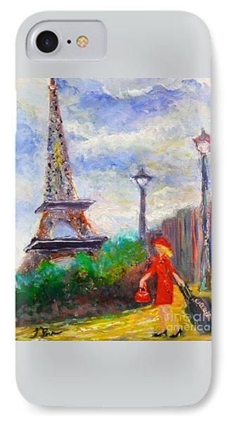 Where To .... Paris  IPhone Case