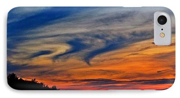 Whirlpool Sunset IPhone Case