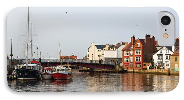Whitby Harbour IPhone Case