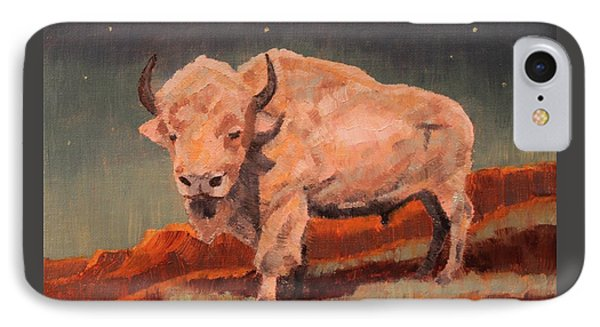 White Buffalo Nocturne IPhone Case