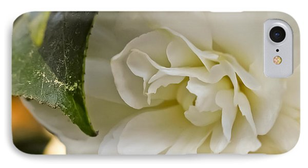 White Camellia 1 IPhone Case