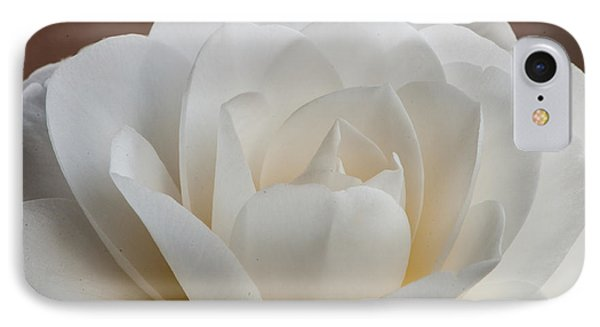 White Camellia IPhone Case