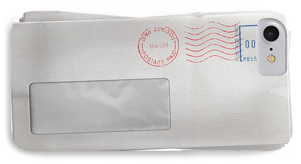 White Envelope Stack IPhone Case