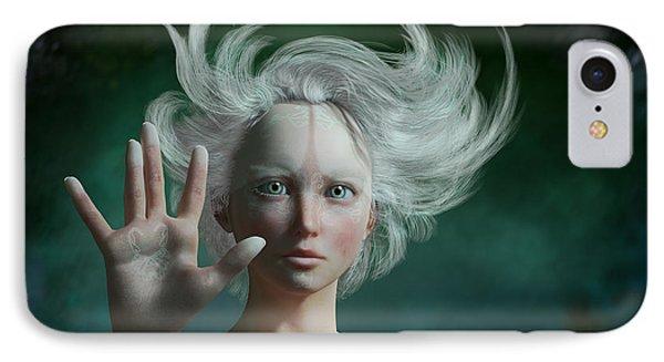 Elf iPhone 8 Case - White Faun by Britta Glodde