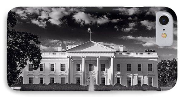 White House Sunrise B W IPhone Case