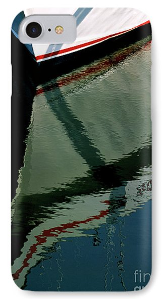 White Hull On The Water IPhone Case