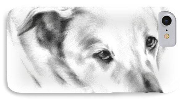 White Labrador IPhone Case