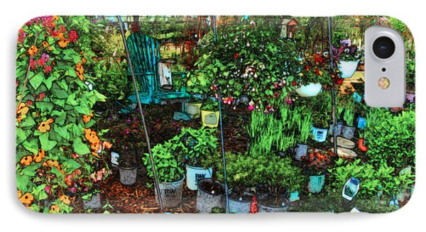 White Lake Greenhouse And Nursery IPhone Case