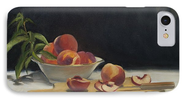 White Peaches IPhone Case