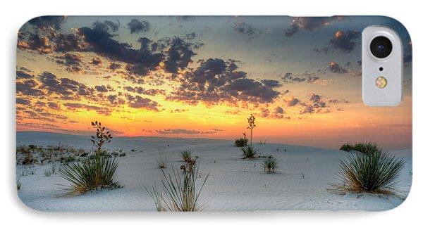 White Sands Sunrise IPhone Case