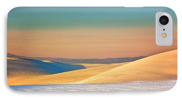 White Sands Sunset IPhone Case