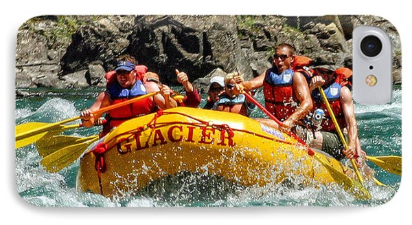 White Water Fun IPhone Case