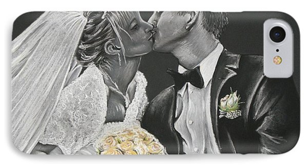 White Wedding IPhone Case