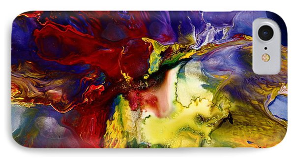 Who Knows Modern Abstract Art IPhone Case