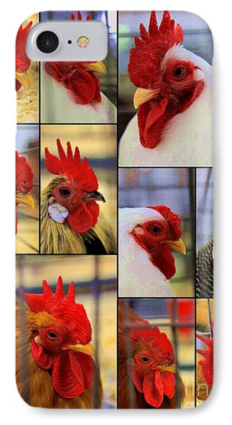 Whole Lot Of Clucking Going On IPhone Case