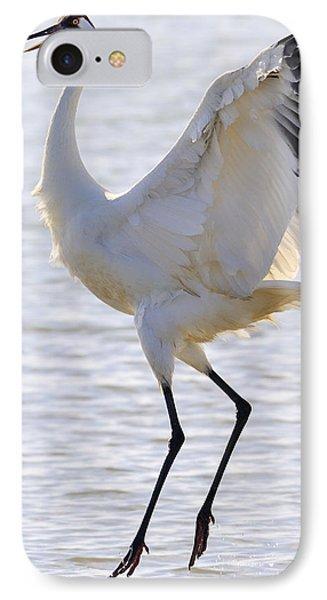 Whooping Crane - Whooping It Up IPhone Case