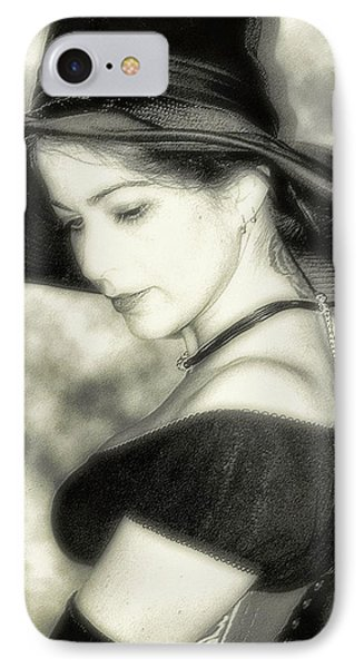 Wiccan Lady IPhone Case