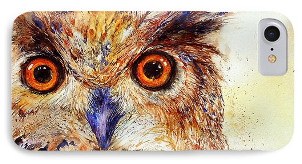 Wide Eyed_ The Owl IPhone Case
