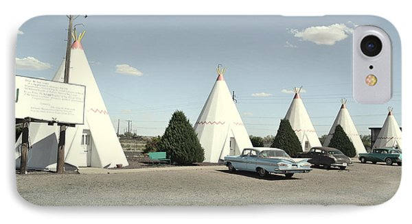 Wigwams In Arizona IPhone Case
