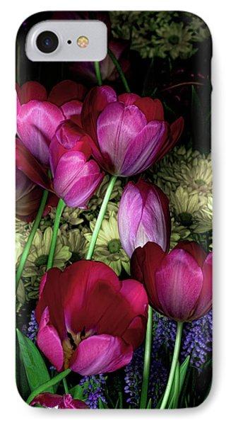 Wild Crazy Beautiful Tulip Garden IPhone Case