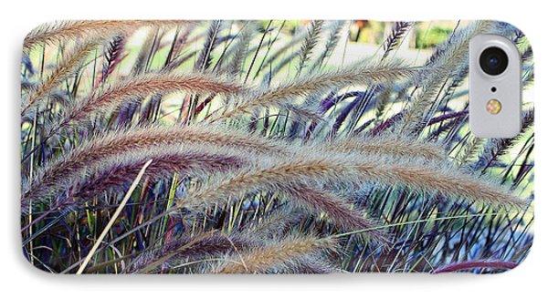 Wild Grasses In Autumn IPhone Case