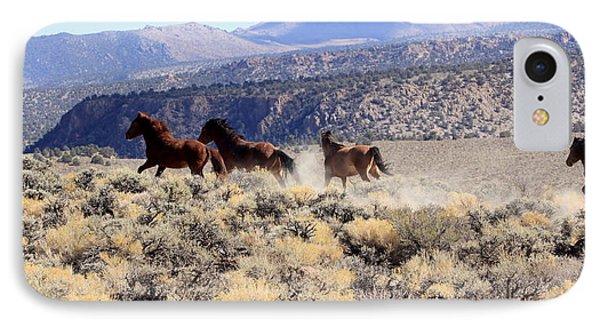 Wild Horses Iv IPhone Case