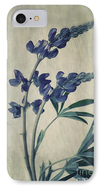 Portraits iPhone 8 Case - Wild Lupine by Priska Wettstein