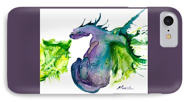 Wildfire And Water Dragon IPhone Case