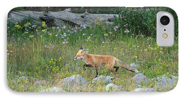 Wildflower Fox IPhone Case