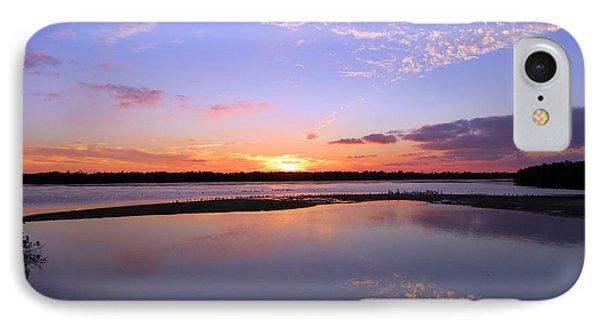 Wildlife Drive Sunset IPhone Case
