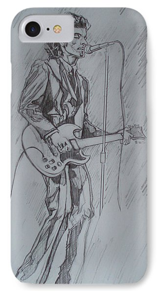Willy Deville - Steady Drivin' Man IPhone Case
