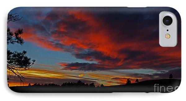 Black Hills Sunset IPhone Case
