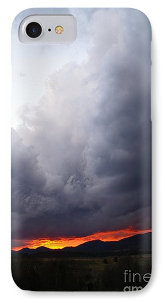 Wind Event At Sundown IPhone Case