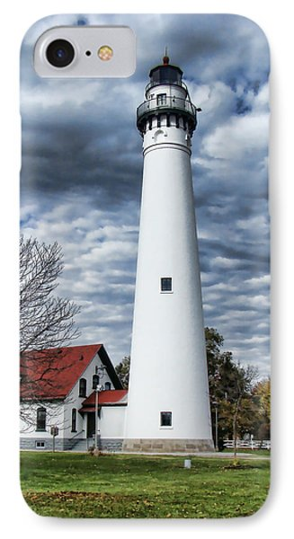 Wind Point Lighthouse IPhone Case