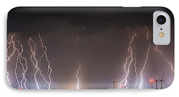 Windfarm Bolts IPhone Case