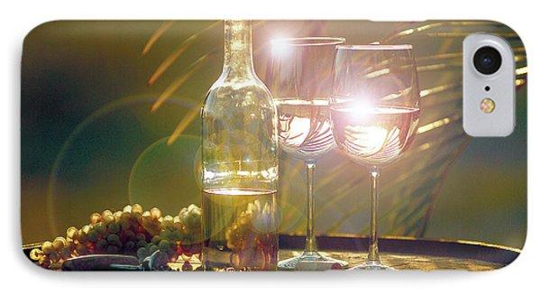 Wine On The Barrel IPhone Case