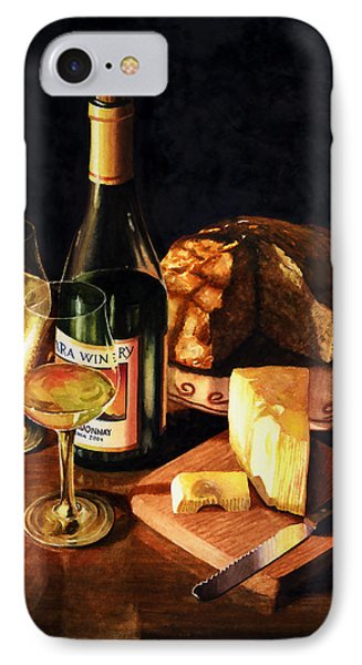 Wine With Cheese IPhone Case