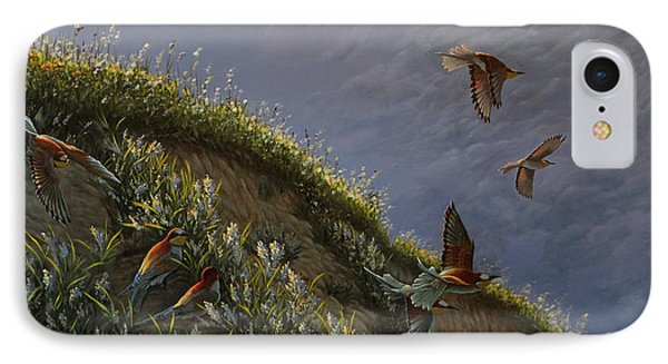 Wings Of Sumer IPhone Case