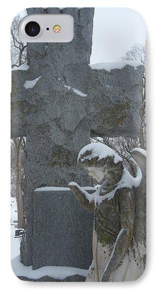 Winter Angel IPhone Case