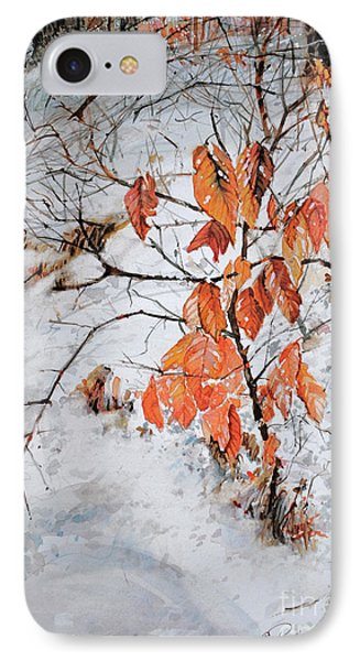 Winter Ash IPhone Case