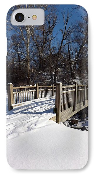 Winter At Creekside IPhone Case