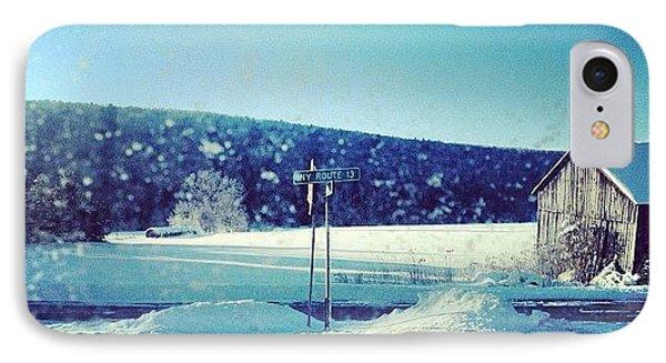 Winter Days IPhone Case