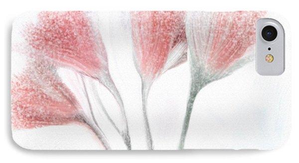 Winter Flowers IPhone Case