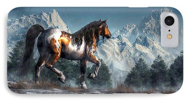 Winter Horse IPhone Case