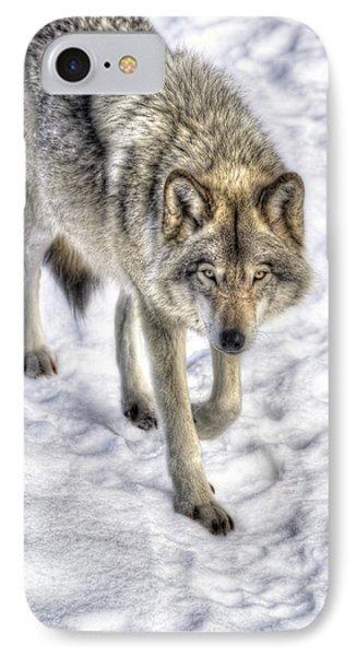 Winter Hunter IPhone Case