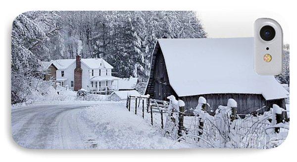 Winter In Virginia IPhone Case