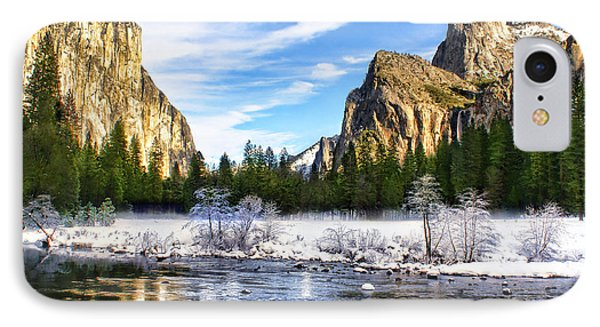 Winter In Yosemite IPhone Case