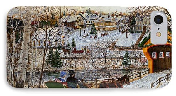 Winter Memories 1 Of 2 IPhone Case
