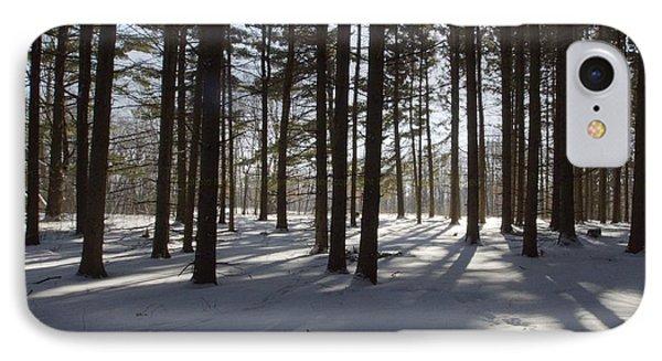 Winter Pines IPhone Case